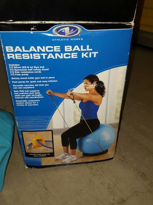 Ball exercise kit new for Sale in Newton, MA