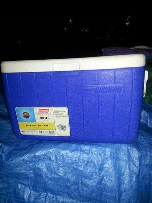 New Colman 48qrt cooler for Sale in Glen Burnie, MD