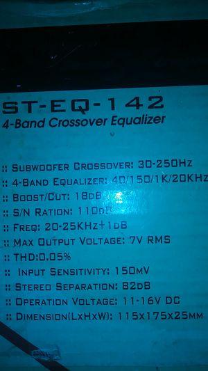 Sound Xtream..St-EQ 4band Eq.. for Sale in Berkeley, CA