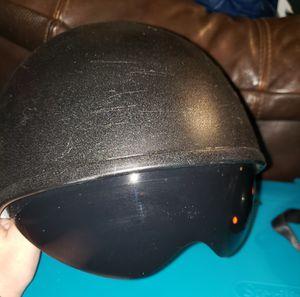 Large Fiberglass DOT Half Helmet with visor for Sale in Lake Mary, FL