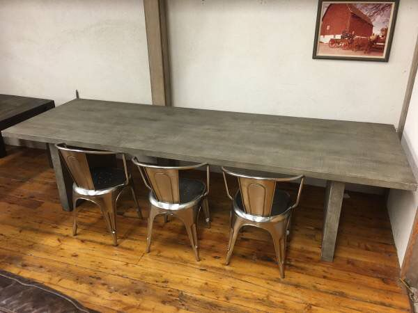 Restoration Hardware Reclaimed Russian Oak Plank Dining Table For Sale In Chicago Il Offerup