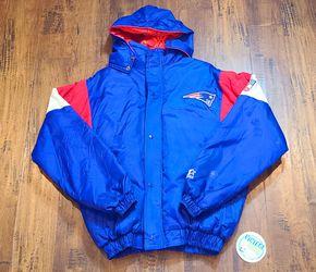 Starter Rare Patriots Jacket SZ-XL Puffer Redsox Celtics Nike Satin Jersey Brady for Sale in Henderson,  NV