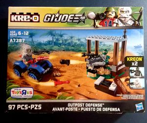 Kre-o GI Joe's A7387 Outpost Defense for Sale in Lincoln, RI