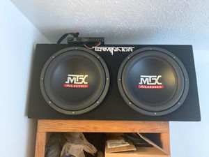 Brand new never hooked up MTX for Sale in Indianapolis, IN