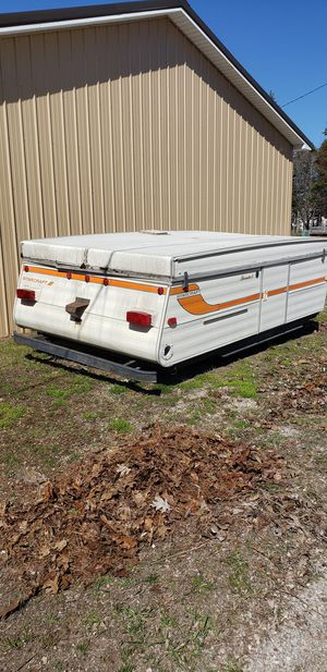 Pop up camper for building trailer for Sale in Rogers City, MI