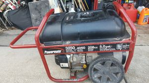 Powermade 3250w generator 136hours 4.5gal for Sale in Melrose Park, IL