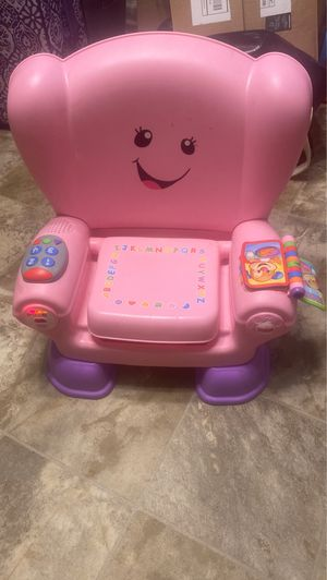 Fisher-Price Laugh & Learn Smart Stages Chair, Pink for Sale in Morrow, GA