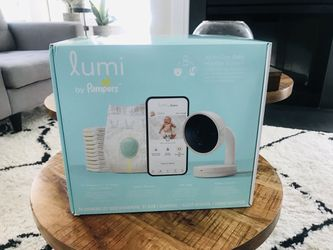 Lumi by Pampers Smart Video Baby Monitor Plus Sleep System All-in-One Bundle for Sale in Charlotte, NC