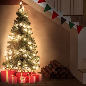 Azure Sky Green Pine Artificial Christmas Tree for Sale in Los Angeles, CA