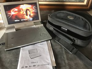 "8.5"" Portable DVD player with car charger for Sale in Mount Ephraim, NJ"