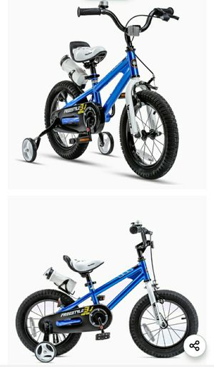 "14"" RoyalBaby Kids Bike Boys Girls Freestyle Bicycle for Sale in Brooklyn Park, MD"