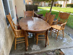 Sofa with lunch table for Sale in Turlock, CA
