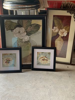 Flower picture frame bundle for Sale in San Angelo, TX
