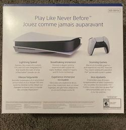 Ps5 Disc Version Open Box for Sale in Waco,  TX