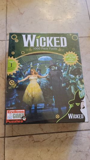 Endless Games Puzzles - Wicked 1000 Piece Puzzle (BRAND NEW) for Sale in Laguna Hills, CA