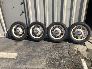 1933 Original Kelsey Hayes Chevrolet Wire Wheels for Sale in Fresno, CA