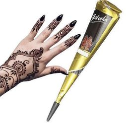 100% Vegan Black Mehndi Henna Paste Cone Temporary Tattoo Ink for Sale in Montville,  NJ