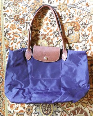 Longchamp Le Pliage Tote Purse in Bilberry for Sale in Memphis, TN