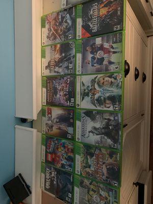 12 xbox 360 games for Sale in Clinton Township, MI