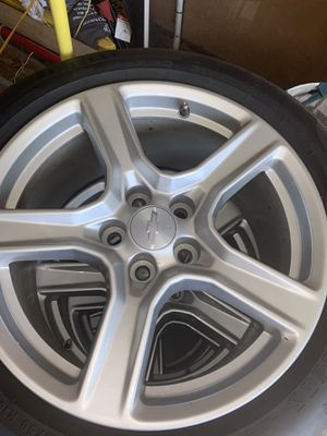 2018 Chevy Camaro STOCK WHEELS/TIRES $750 OBO for Sale in Charlotte, NC