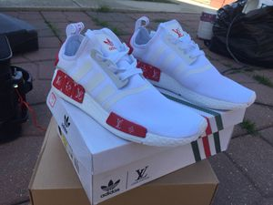 Louis Vuitton adidas Nmd CUSTOM SILK for Sale in Chicago, IL
