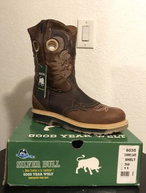 SILVER BULL Rodeo Work Boots with Double Sole for Men NEW! for Sale in Phoenix, AZ