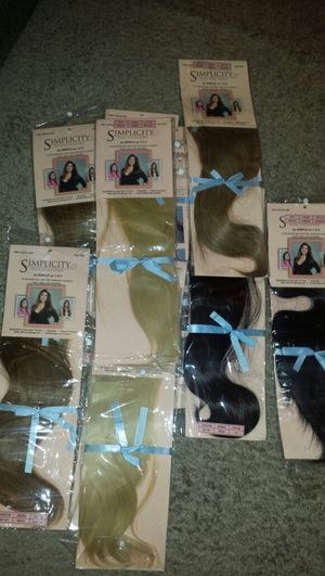 Hair extensions( human hair) for Sale in Houston, TX