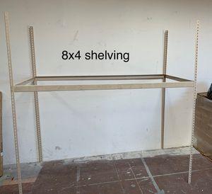 Metal shelving frame. for Sale in Las Vegas, NV
