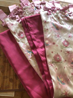 Beautiful, Girly Curtains for Sale in Virginia Beach, VA