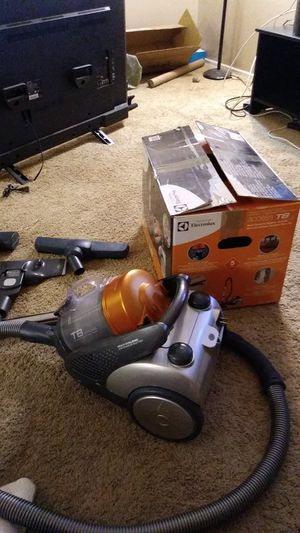 Electrolux T8 vacuum cleaner multi cyclonic Bagless canister for Sale in Newport Beach, CA