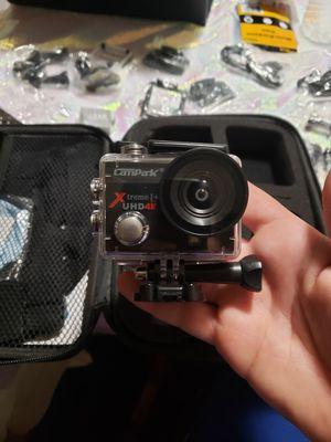 Campark 4K camera $35 OBO for Sale in Loma Linda, CA