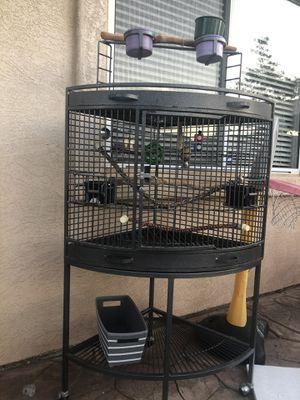 Corner bird cage for Sale in Escondido, CA