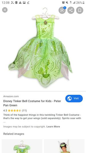 Tinker bell costume for Sale in Bakersfield, CA