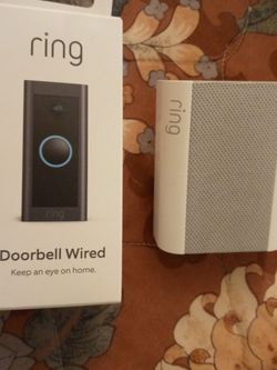 Doorbell Video Camera And Wireless doorbell Chime for Sale in Fort Worth,  TX