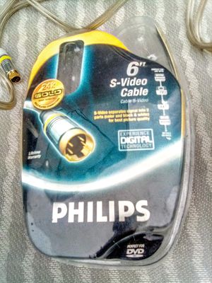 PHILIPS S VIDEO CABLE for Sale in FALLING WTRS, WV