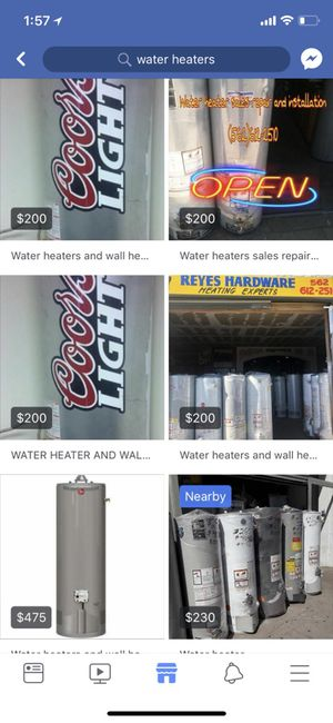 Water heaters and wall heaters sales new and used for Sale in Torrance, CA