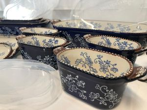Floral Lace 21-Piece Bakeware Set for Sale in Pompano Beach, FL