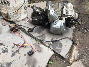 110cc eclectic start engine for atv or pit bike. for Sale in Newark, NJ