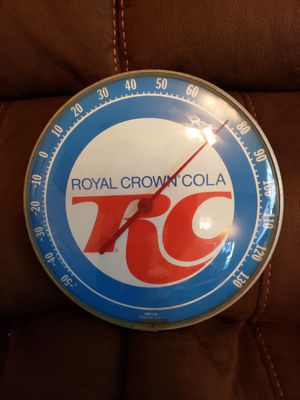 Vintage 1950 ROYAL GROWN COLA THERMOMETER for Sale in Wichita Falls, TX