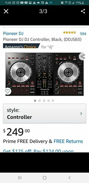 Pioneer Dj Controller used 1 time for event. for Sale in Colton, CA