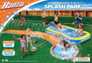 Pool+ Slide+ sprinkler all in one set! for Sale in Springfield, VA