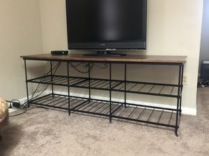 Longaberger wrought iron tv stand entertainment center for Sale in Easton, PA