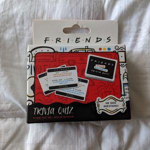 Friends Trivia Card Game for Sale in San Luis Obispo, CA