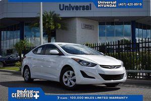 2016 Hyundai Elantra for Sale in Orlando, FL