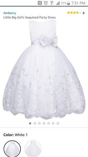 Girl's party or flower girl dress (size 10) for Sale in Chicago, IL