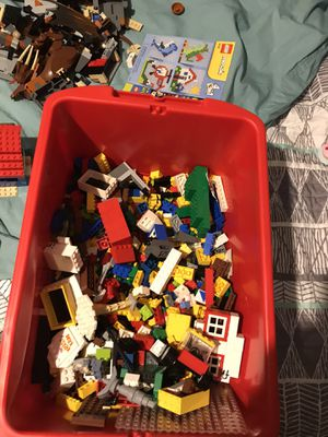 All LEGO pieces and booklets for Sale in Elmwood Park, IL