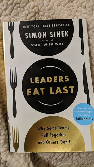 Leaders eat last book for Sale in Chula Vista, CA