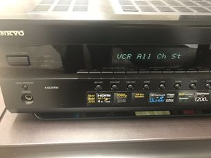 Onkyo AVR with 4 Speakers 🔊 for Sale in Alexandria, VA