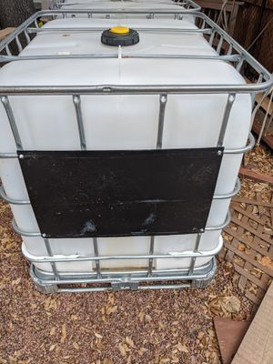 275 gallon water tank tote for Sale in Payson, AZ