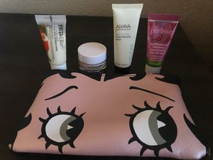 Face mask samples with Betty Boop bag for Sale in Tempe, AZ